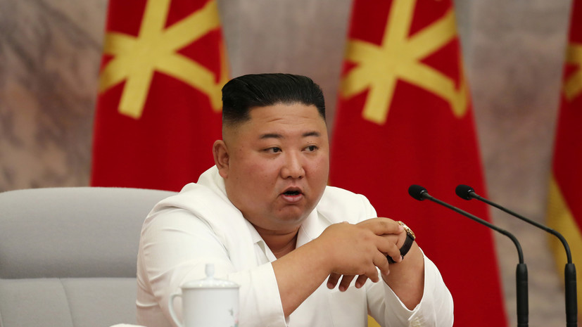 Ким Чен Ын провёл заседание политбюро ЦК ТПК для обсуждения пандемии