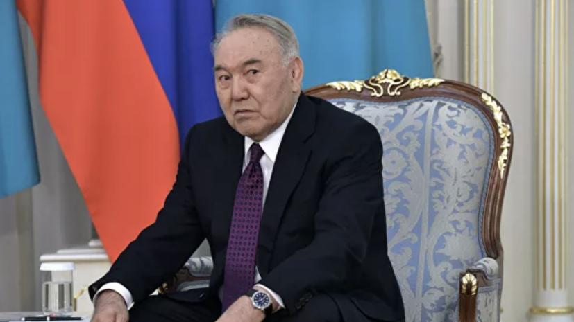 Назарбаев прокомментировал своё состояние после коронавируса