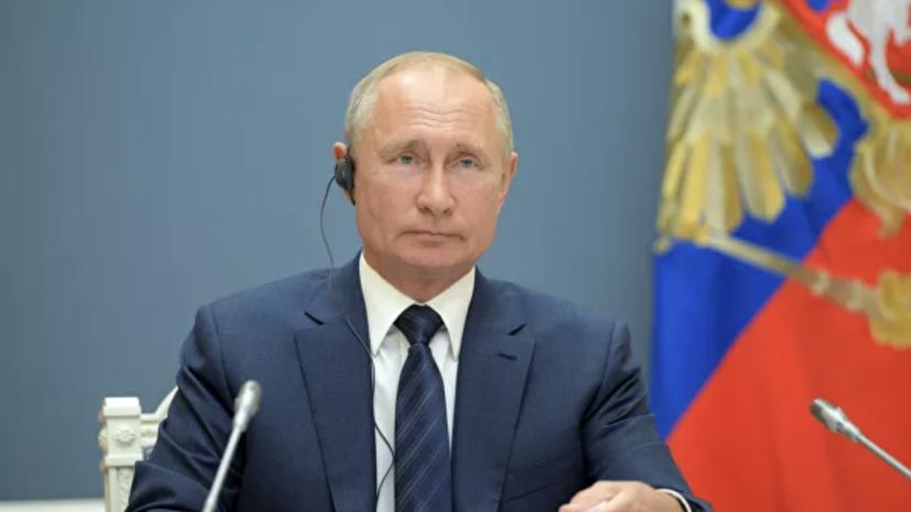 Путин поздравил Назарбаева с днём рождения
