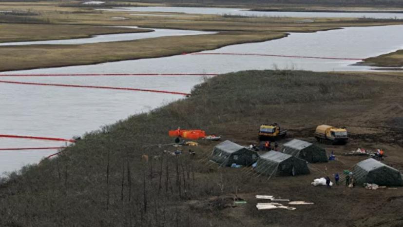 С места ЧП в Норильске вывезено почти 176 тысяч тонн загрязнённого грунта