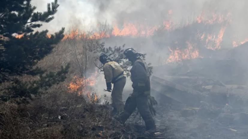 Предупреждение объявлено в Магаданской области из-за угрозы пожаров