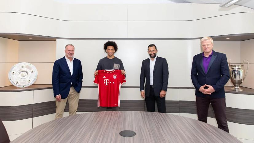 «Бавария» объявила о переходе Зане из «Манчестер Сити»