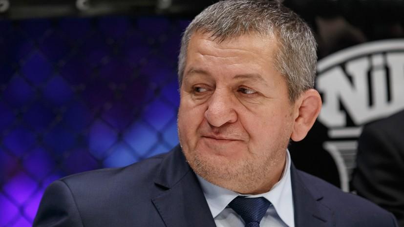 Уткин выразил соболезнования в связи со смертью отца Нурмагомедова