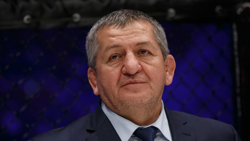 Отец Хабиба Нурмагомедова скончался в Москве
