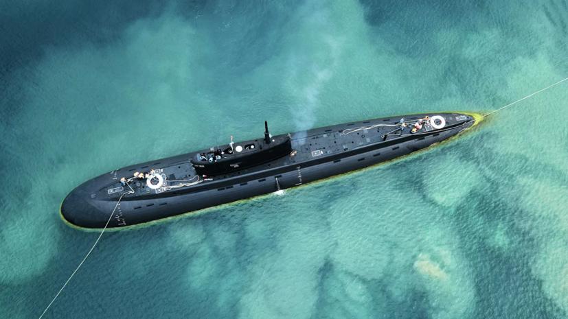 Экипаж подлодки «Колпино» вышел в море для проведения тренировок
