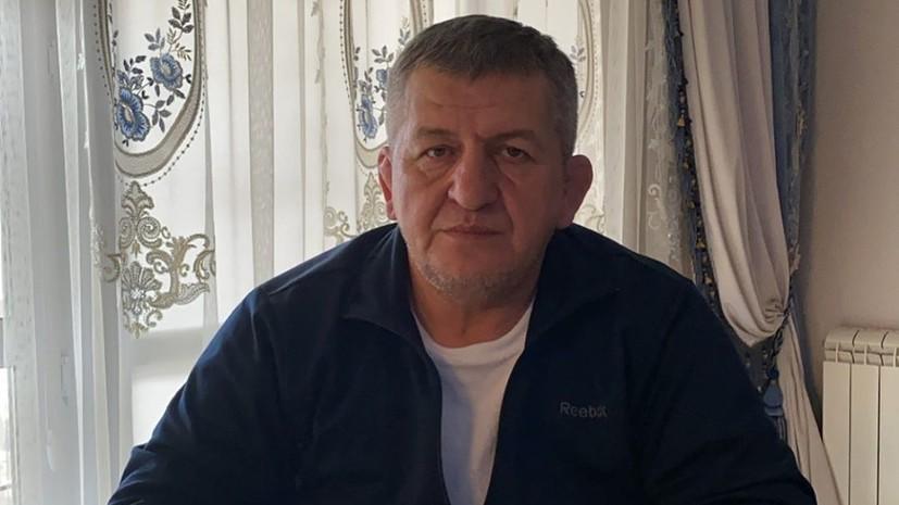 Гаджиев: Абдулманап Нурмагомедов изменил ход истории в российском спорте