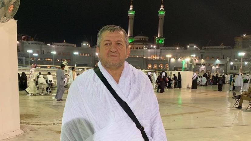 Лебедев: Абдулманап Нурмагомедов для Хабиба — больше чем отец