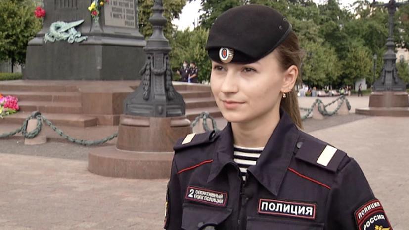 «Ни звездой, ни знаменитостью себя не считаю»: сержант полиции Ирина Бодрова рассказала, как раздавала маски несогласным