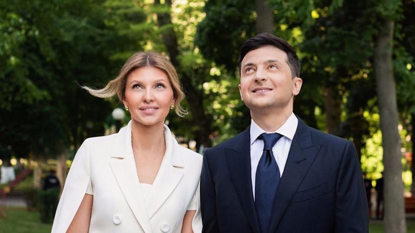 Жена Зеленского вылечилась от коронавируса