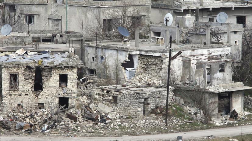 Террористы обстреляли населённые пункты в сирийской Латакии