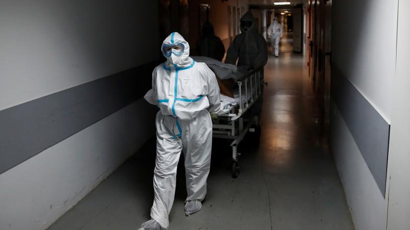 В Москве за сутки скончались 25 пациентов с коронавирусом