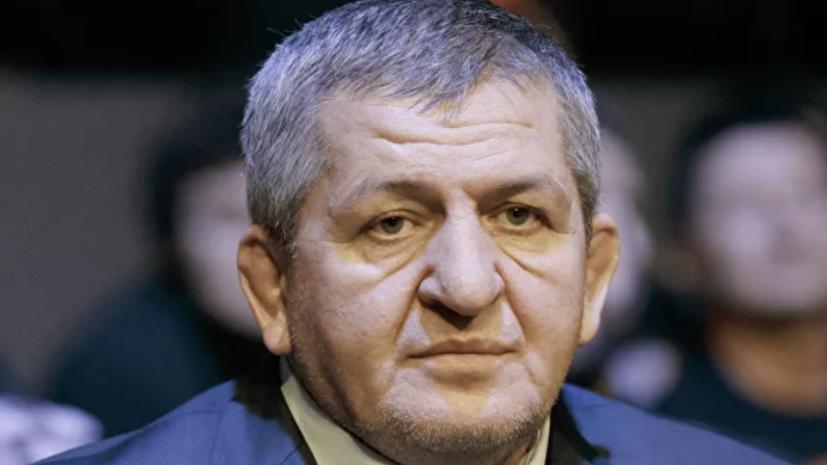 Тренер Нурмагомедова отреагировал на смерть его отца
