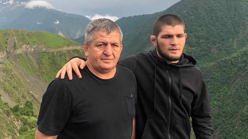 Глава UFC опубликовал видео, посвящённое отцу Нурмагомедова