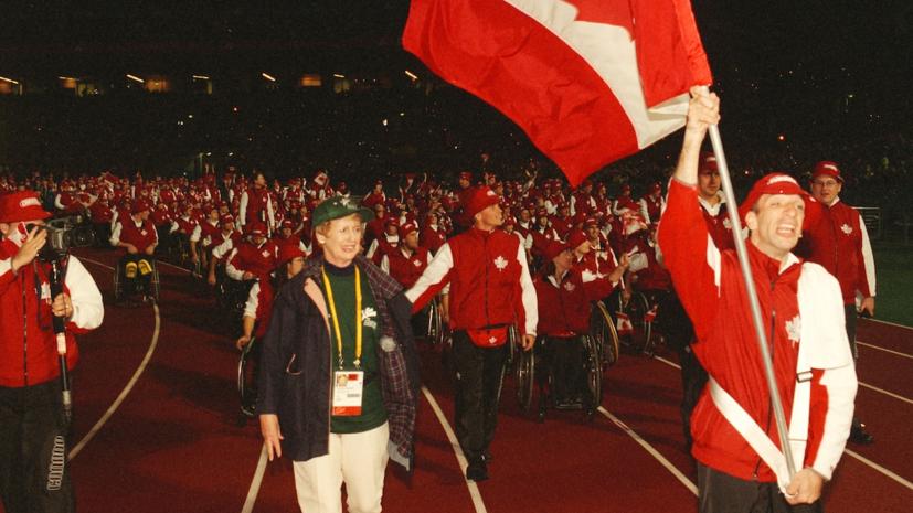 Умер знаменосец сборной Канады на Паралимпиаде-2000 Лонги