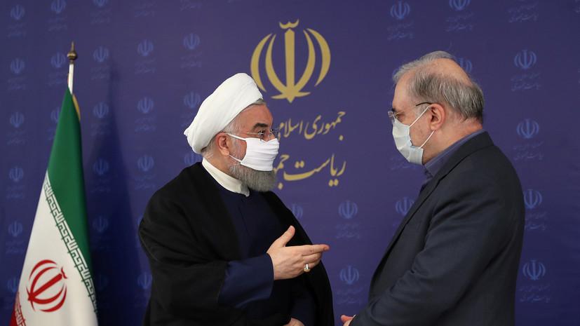 В Иране вводится обязательное ношение масок