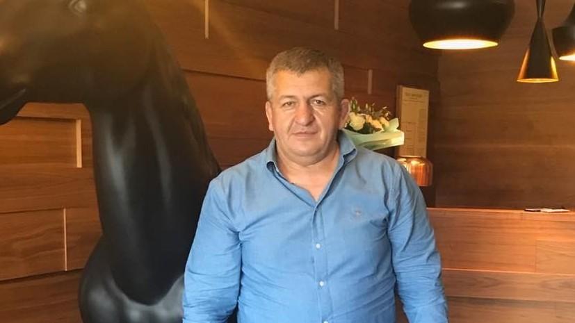 Роман Ротенберг: Абдулманап Нурмагомедов был настоящим мужчиной