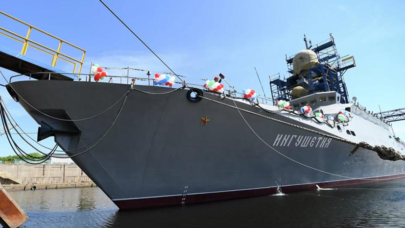 Группа кораблей Черноморского флота провела учения в Чёрном море