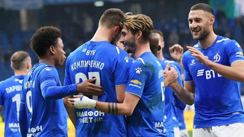 Заболевшие коронавирусом футболисты «Динамо» не сыграют до конца сезона