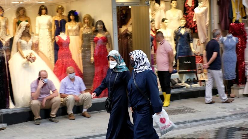 За сутки в Турции выявили 1154 новых случая коронавируса