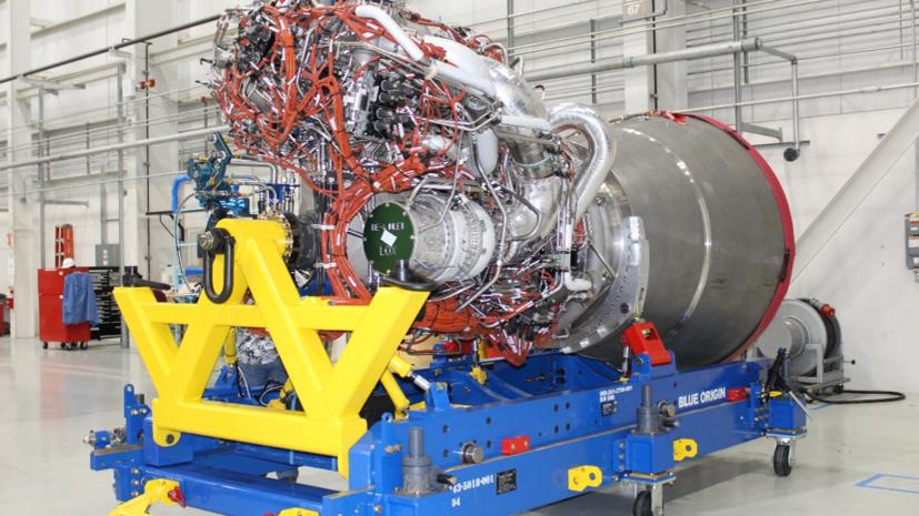 Компания United Launch Alliance получила ракетный двигатель BE-4