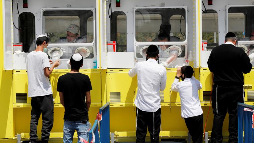 В Израиле число выявленных случаев коронавируса достигло 29 032