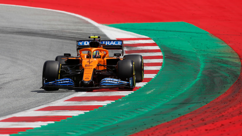 Источник: пилот McLaren Норрис обманул систему безопасности на Гран-при Австрии