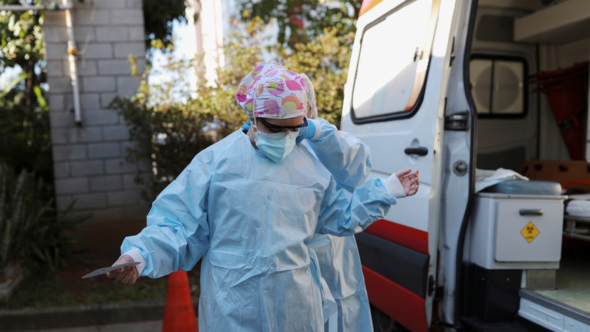 Число случаев заболевания коронавирусом в Бразилии достигло 1 577 004