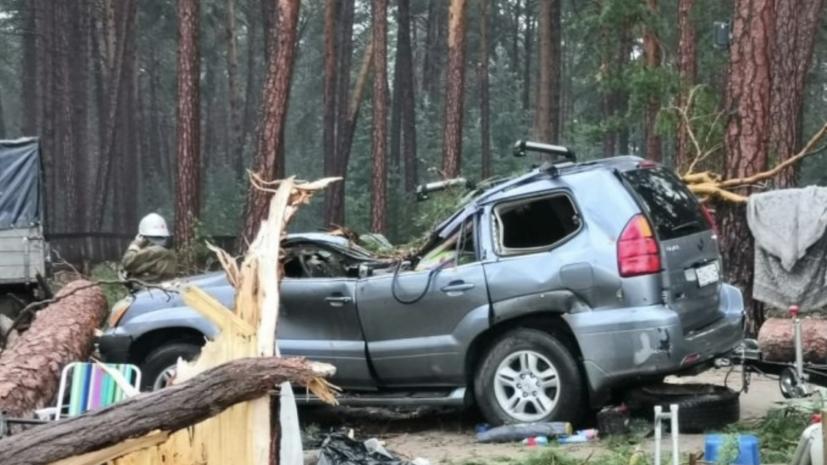 Спасатели разобрали завалы в палаточном лагере под Красноярском