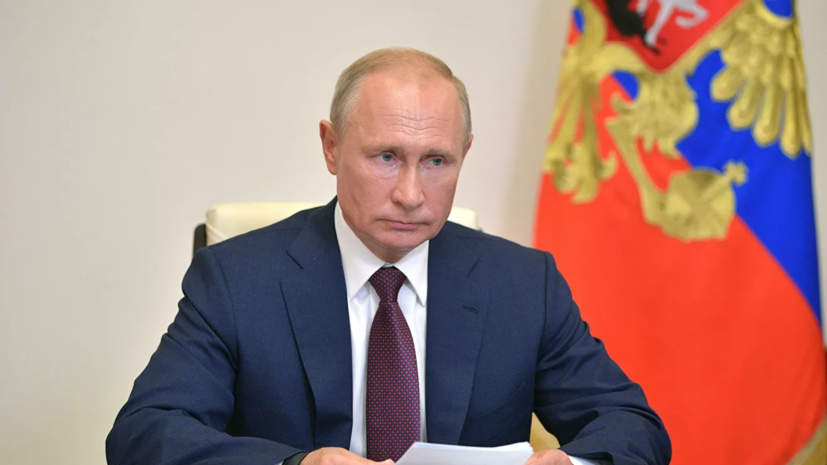 Путин поздравил жителей Калмыкии с 100-летием республики
