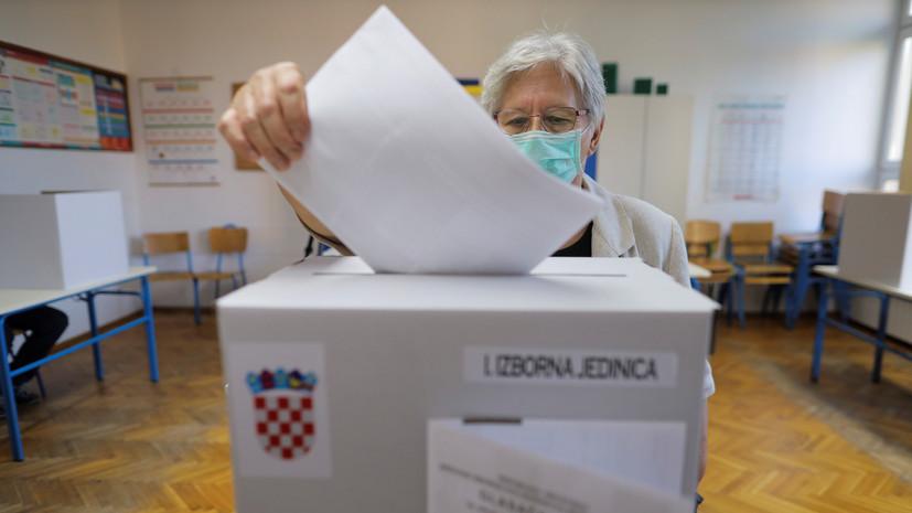 Явка на парламентские выборы в Хорватии составила 18%
