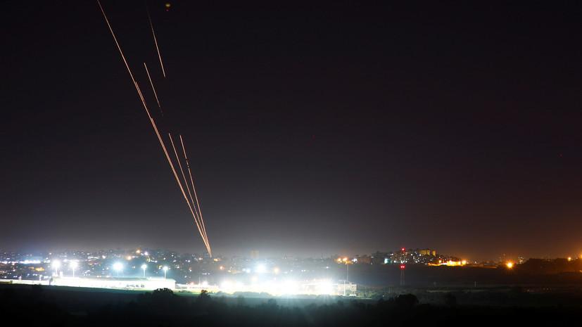 Израильская ПВО перехватила выпущенную из сектора Газа ракету
