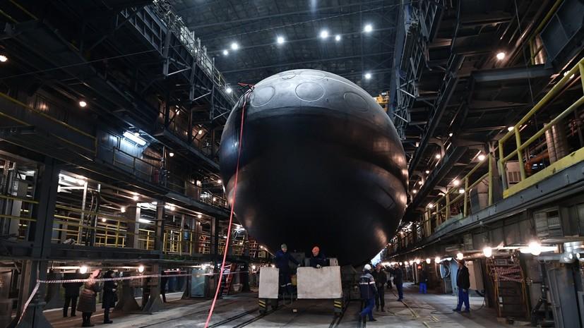 В ВМФ заявили о скором завершении заводских ходовых испытаний подлодки «Волхов»