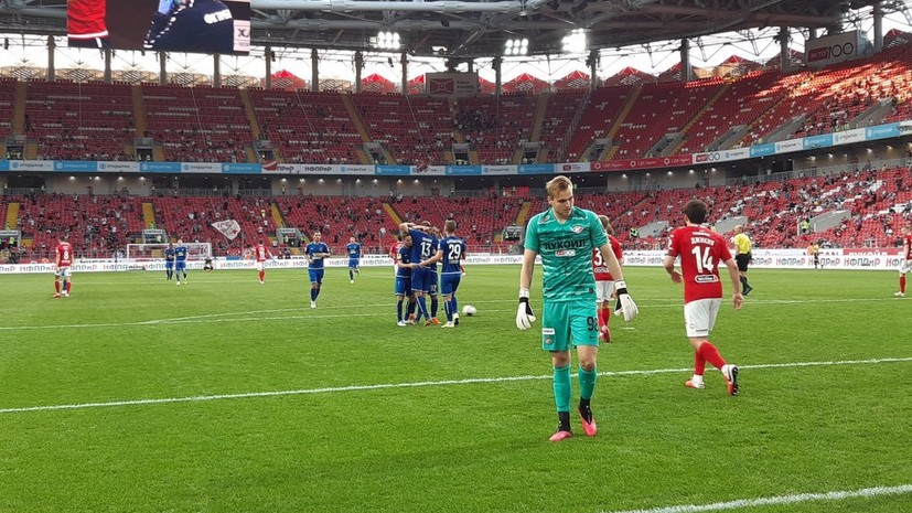 Футболисты «Тамбова» получили двойные премиальные за победу над «Спартаком»