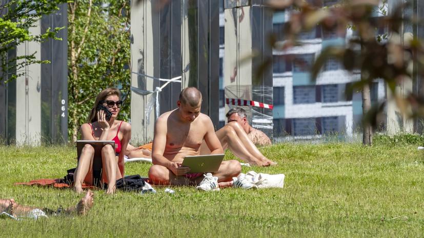В Белгородской области предупредили о жаре до +40 °С