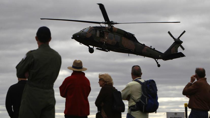 Госдеп США одобрил продажу Литве шести вертолётов Black Hawk
