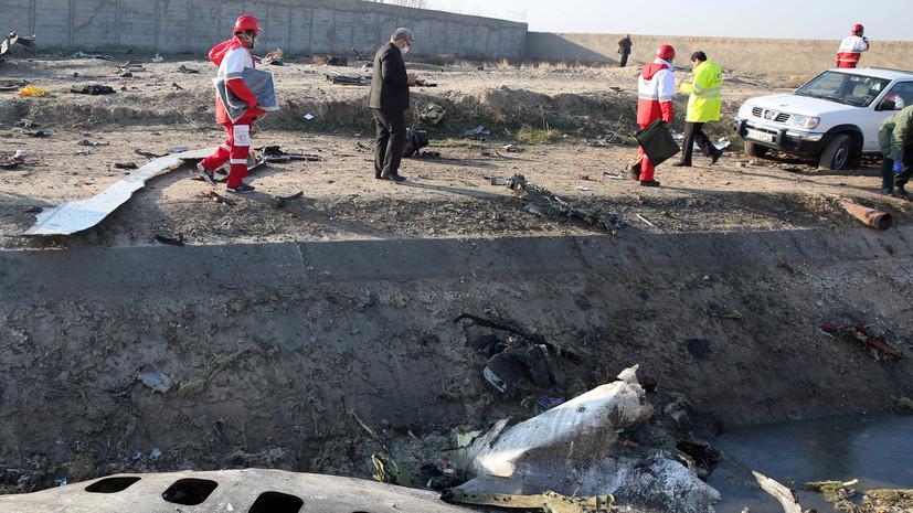 На Украине допустили обращение в суд ООН из-за сбитого в Иране Boeing