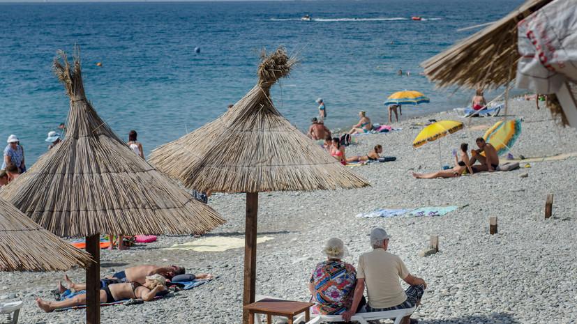 В МЧС предупредили о риске смерчей вблизи Сочи и Туапсе на фоне жары