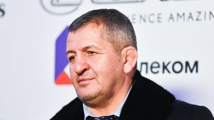 Махачев заявил, что Абдулманап Нурмагомедов был для него больше чем просто тренер