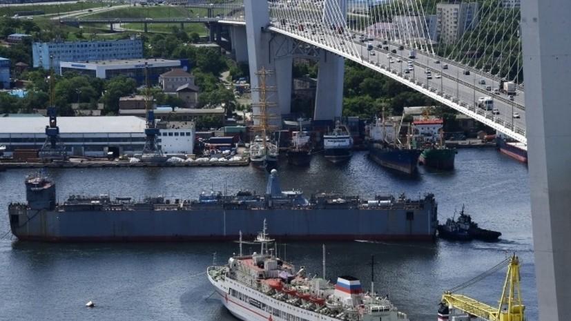Парад кораблей Тихоокеанского флота в честь Дня ВМФ пройдёт в бухте Золотой Рог