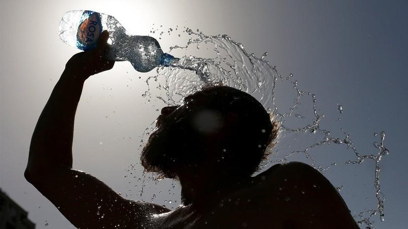 В МЧС прокомментировали жару в Краснодарском крае