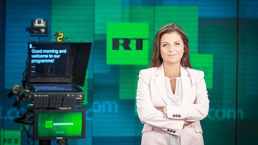 Симоньян назвала фантасмагорической тупостью запрет RT в Литве