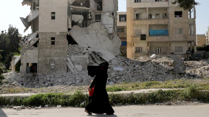 Террористы обстреляли населённые пункты в Сирии