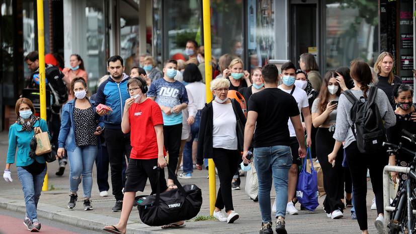 В Германии число выявленных случаев коронавируса достигло 197 783