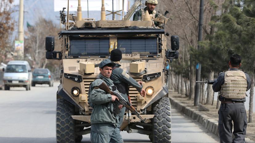 СМИ сообщили о падении военного вертолёта в Афганистане
