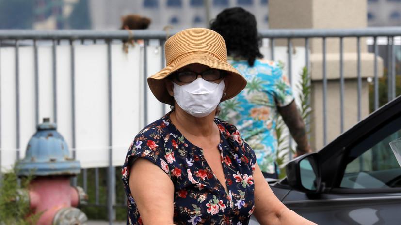 За сутки в США выявили 58 тысяч случаев коронавируса