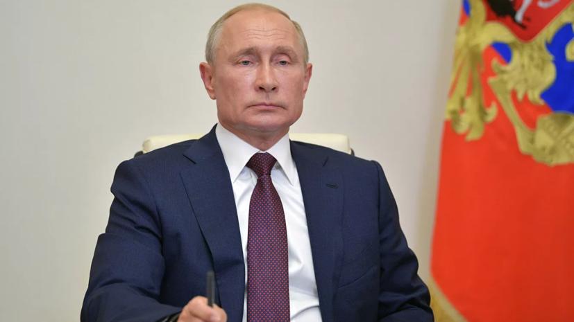 Путин заявил о намерении обсудить с кабмином нацпроекты