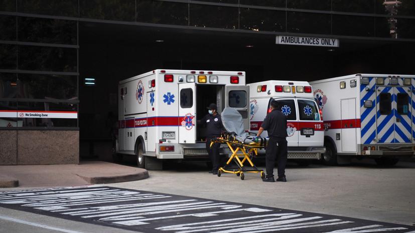 В Техасе за сутки скончались 105 человек с коронавирусом