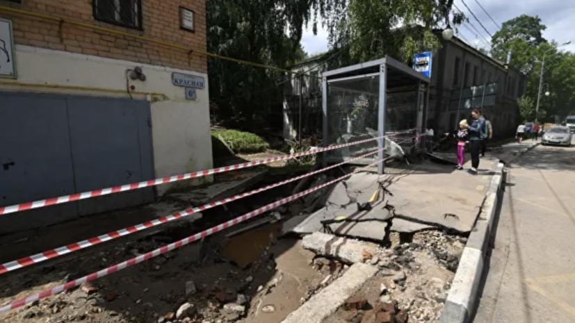 После прорыва дамбы восстановлено движение по Волоколамскому шоссе