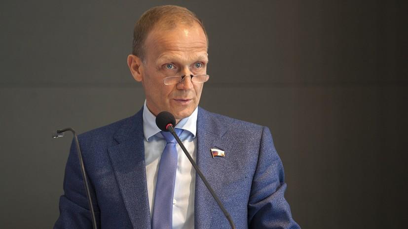 «Необходимо полностью сконцентрироваться на работе над законопроектами»: Драчёв объявил об уходе с поста главы СБР