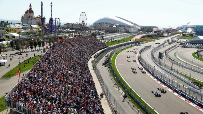 Титов рассказал о подготовке трассы в Сочи для проведения Гран-при России